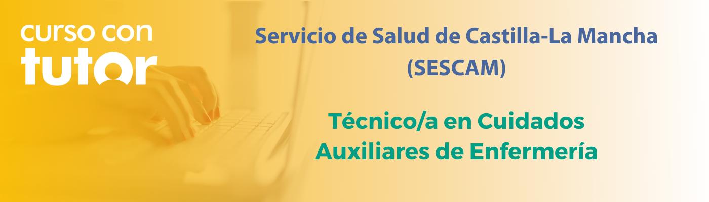 Prepárate con nuestro curso online tutorizado de Auxiliar de Enfermería del SESCAM